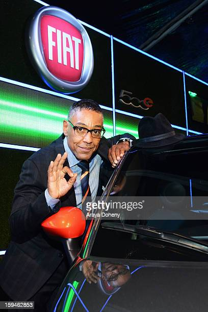 Actor Giancarlo Esposito attends Fiat's Into The Green at the 70th Annual Golden Globe Awards held at The Beverly Hilton Hotel on January 13 2013 in...