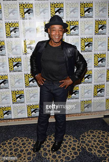 Actor Giancarlo Esposito attends NBC's Revolution press line during ComicCon International 2013 at the Hilton San Diego Bayfront Hotel on July 20...