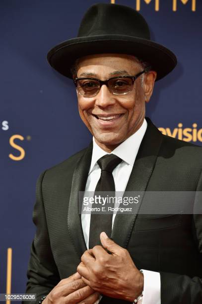 Actor Giancarlo Esposito attends the 2018 Creative Arts Emmy Awards at Microsoft Theater on September 8 2018 in Los Angeles California