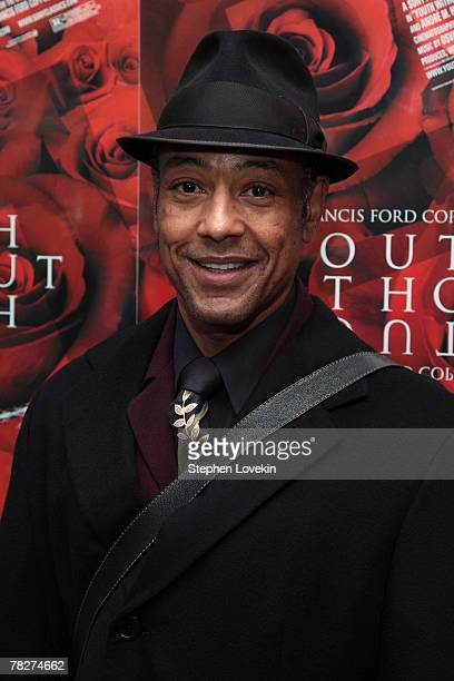 Actor Giancarlo Esposito attends the New York premiere of Sony Pictures Classics Youth Without Youth at the Paris Theater on December 5 2007 in New...