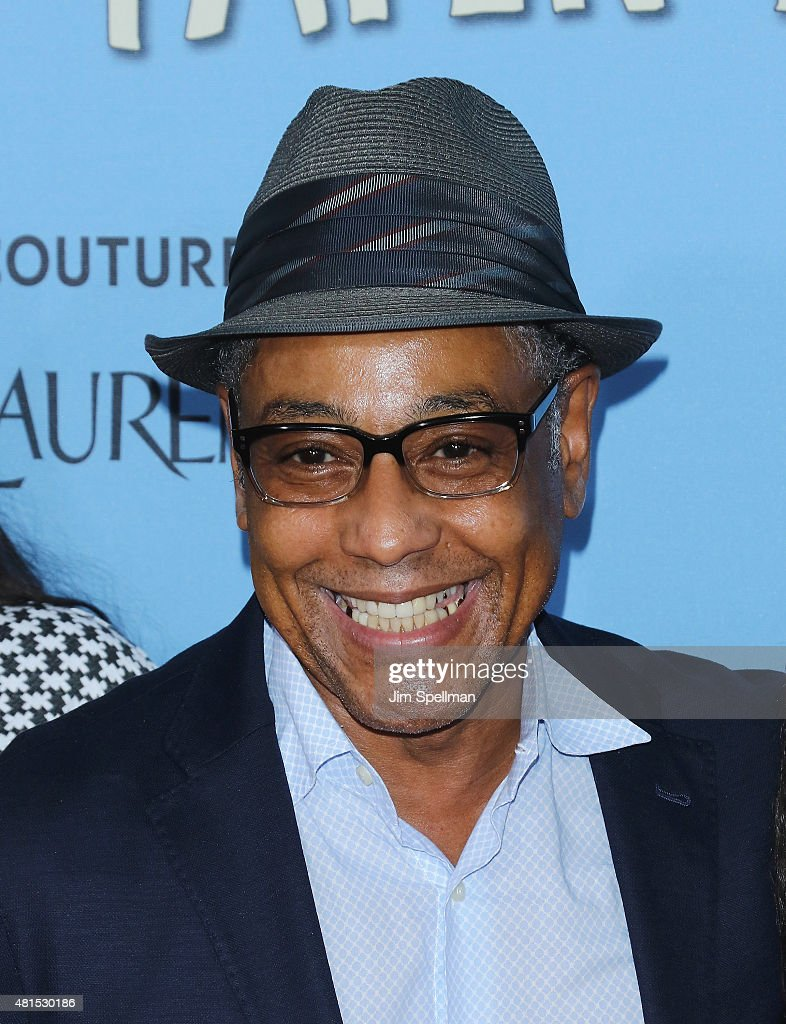Actor Giancarlo Esposito attends the 'Paper Towns' New York premiere at AMC Loews Lincoln Square on July 21, 2015 in New York City.