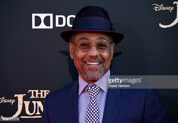 """Actor Giancarlo Esposito attends the premiere of Disney's """"The Jungle Book"""" at the El Capitan Theatre on April 4, 2016 in Hollywood, California."""