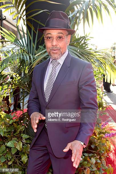 Actor Giancarlo Esposito attends The World Premiere of Disney's THE JUNGLE BOOK at the El Capitan Theatre on April 4 2016 in Hollywood California
