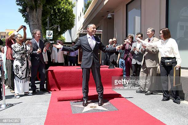 Actor Giancarlo Esposito honored with star on the Hollywood Walk of Fame on April 29, 2014 in Hollywood, California.