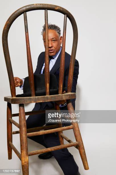 Actor Giancarlo Esposito of AMC's Better Call Saul' poses for a portrait during the 2020 Winter TCA Portrait Studio at The Langham Huntington...