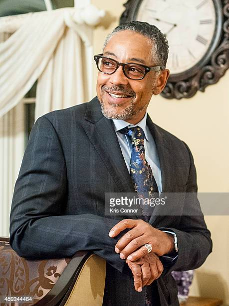 Actor Giancarlo Esposito poses for portraits on November 13, 2014 in Potomac, Maryland..