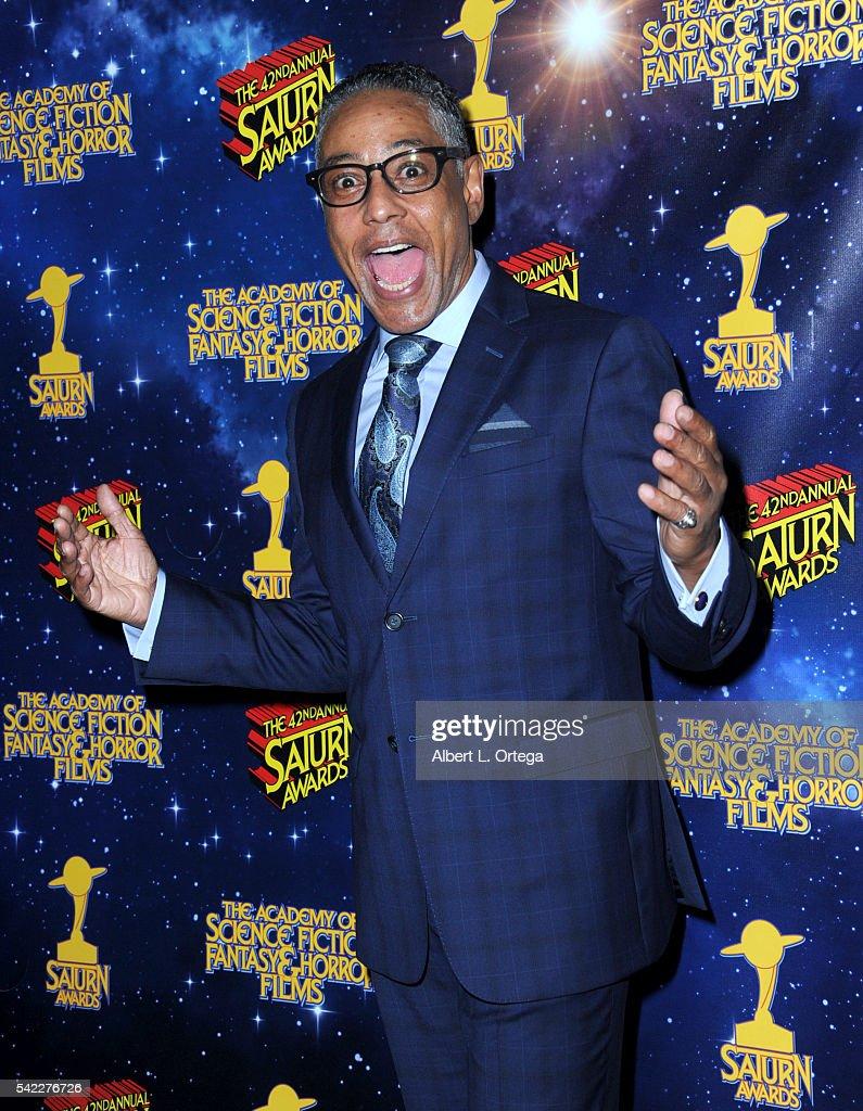 42nd Annual Saturn Awards - Press Room : News Photo