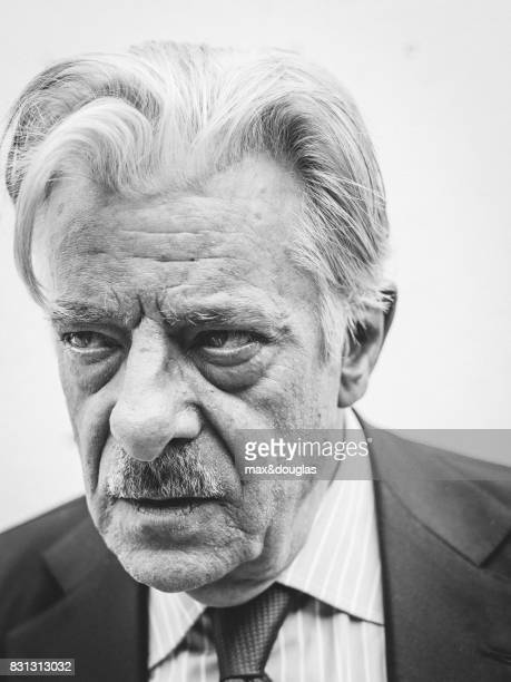 Actor Giancarlo Giannini is photographed for GQ Italy on May 31 2013 in Milan Italy