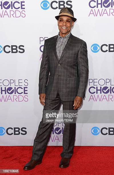 Actor Giancarolo Esposito attends the 34th Annual People's Choice Awards at Nokia Theatre LA Live on January 9 2013 in Los Angeles California