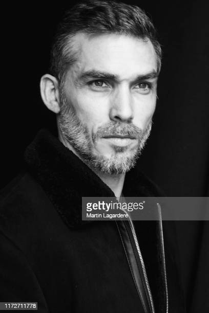 Actor Gianni Giardinelli poses for a portrait on February 15, 2019 in Paris, France.