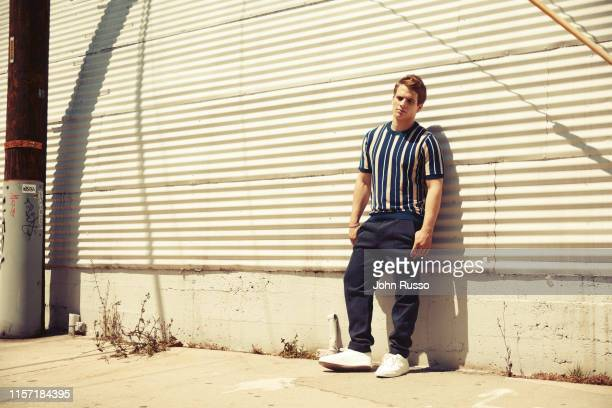Actor Gianni Paolo is photographed for Gio Journal on April 17 2019 in Los Angeles California