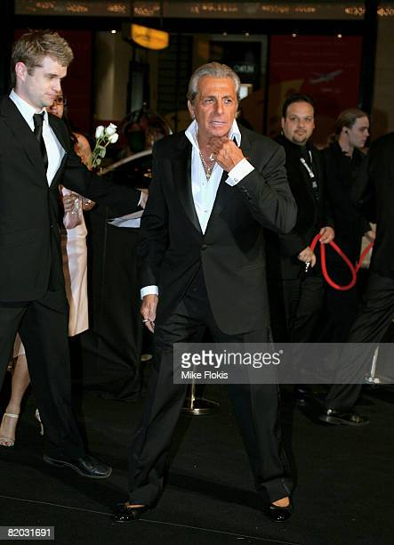 Actor Gianni Russo attends the Godfather Symphony premiere and DVD release at the State Theatre on July 22 2008 in Sydney Australia