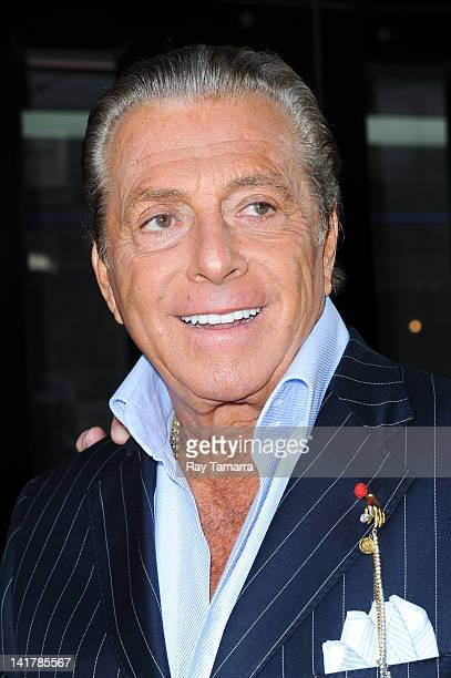 Actor Gianni Russo leaves the Good Day New York taping at the Fox 5 Studios on March 23 2012 in New York City