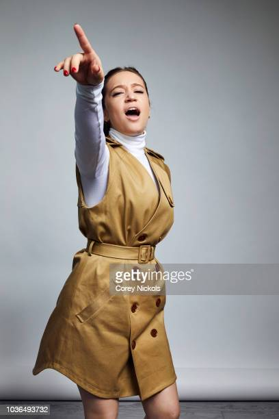 Actor Gideon Adlon from the film Blockers poses for a portrait in the Getty Images Portrait Studio Powered by Pizza Hut at the 2018 SXSW Film...