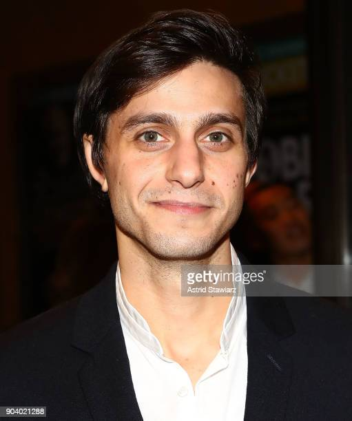 Actor Gideon Glick attends 'John Lithgow Stories By Heart' opening night at American Airlines Theatre on January 11 2018 in New York City