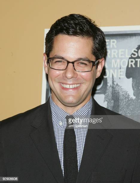 Actor Gideon Yago attends The Messenger Premiere at Clearview Chelsea Cinemas on November 8 2009 in New York City