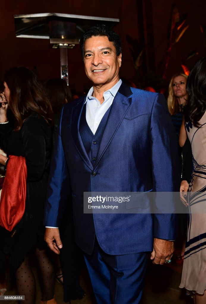 Actor Gil Birmingham attends a cocktail party for 'Wind River' at Circa 55 Restaurant on December 2, 2017 in Los Angeles, California.