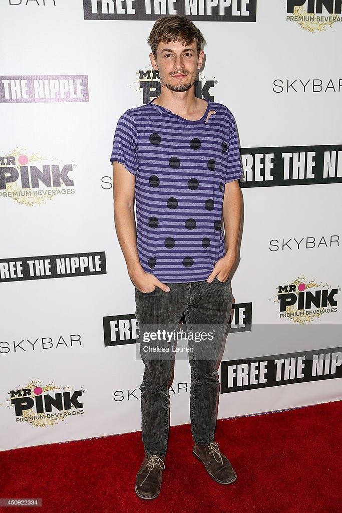 Actor Giles Matthey arrives at the 'Free The Nipple' fundraiser at SkyBar at the Mondrian Los Angeles on June 19, 2014 in West Hollywood, California.