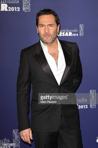 Actor Gilles Lellouche attends the 37th Cesar Film Awards at Theatre du Chatelet on February 24 2012 in Paris France