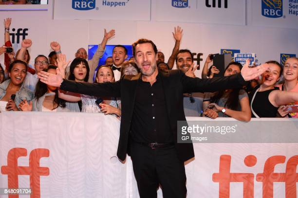 Actor Gilles Lellouche attends the 'C'est la vie' premiere during the 2017 Toronto International Film Festival at Roy Thomson Hall on September 16...