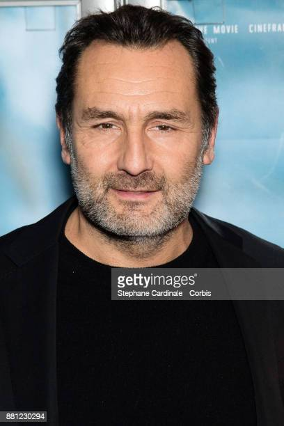 Actor Gilles Lellouche attends the 'Plonger' Premiere at Mk2 Bibliotheque on November 28 2017 in Paris France