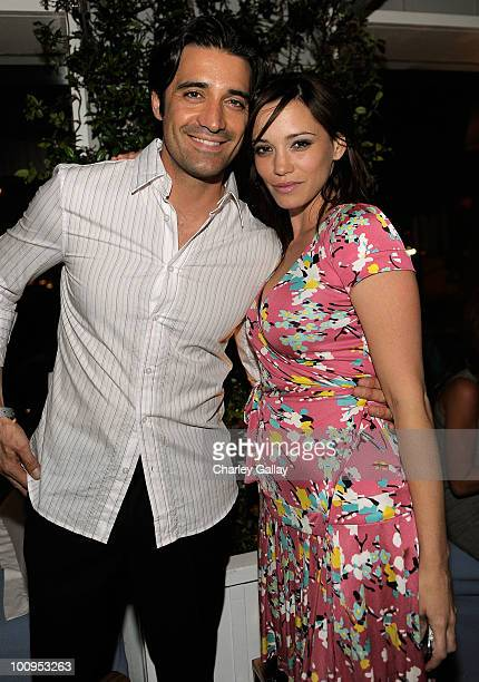 Actor Gilles Marini a nd actress Jessica Sutta attend the launch of the Prince of Persia video game presented by Ubisoft and Break Media at Sky Bar...