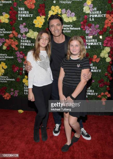 Actor Gilles Marini and family attend Rock The Runway presented by Children's Miracle Network Hospitals at Avalon on October 13 2018 in Hollywood...