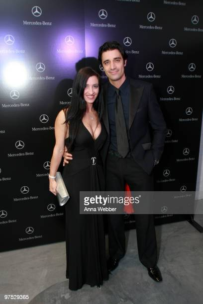 Actor Gilles Marini and guest arrive at Soho House on March 7 2010 in West Hollywood California