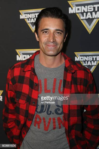 Actor Gilles Marini arives at Monster Jam Celebrity Event at Angel Stadium on February 24 2018 in Anaheim California