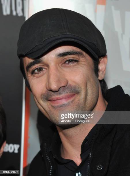 Actor Gilles Marini arrives to the premiere of Relativity Media's Haywire at DGA Theater on January 5 2012 in Los Angeles California