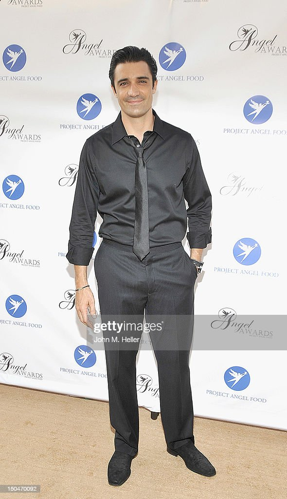 Actor Gilles Marini attends the 17th Annual Angel Awards at Project Angel Food on August 18, 2012 in Los Angeles, California.