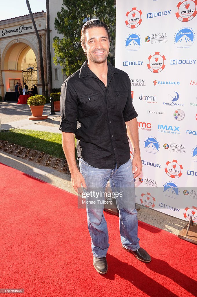 Actor Gilles Marini attends the 3rd Annual Variety Charity Texas Hold 'Em Tournament & Casino Game at Paramount Studios on July 17, 2013 in Hollywood, California.