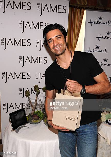 Actor Gilles Marini attends the HBO Luxury Lounge in honor of the 68th Annual Golden Globe Awards at The Four Seasons Hotel on January 15 2011 in...