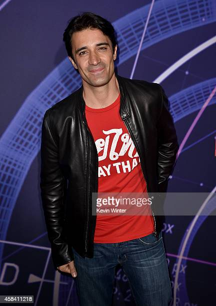 Actor Gilles Marini attends the premiere of Disney's Big Hero 6 at the El Capitan Theatre on November 4 2014 in Hollywood California