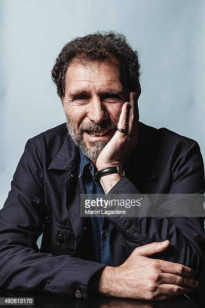 Actor Gilles Sacuto is photographed for Self Assignment on October 5 2015 in Saint Jean de Luz France