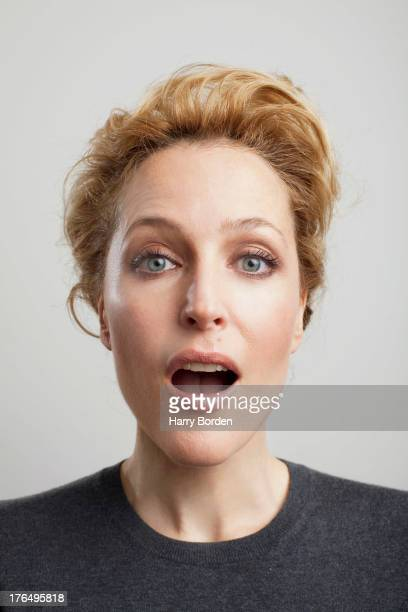 Actor Gillian Anderson is photographed for Sunday Times magazine on July 10, 2012 in London, England.