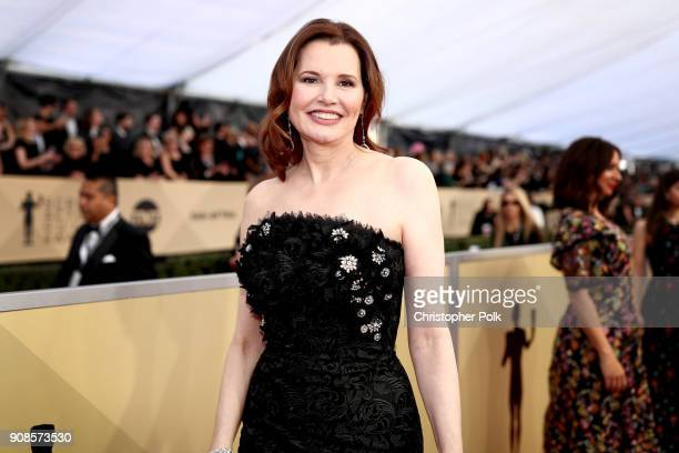 Actor Gina Davis attends the 24th Annual Screen Actors Guild Awards at The Shrine Auditorium on January 21 2018 in Los Angeles California 27522_010