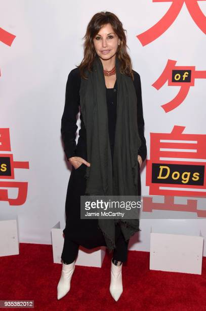 Actor Gina Gershon attends the Isle Of Dogs New York Screening at The Metropolitan Museum of Art on March 20 2018 in New York City