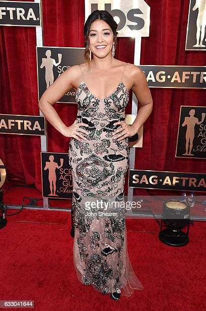 Actor Gina Rodriguez attends The 23rd Annual Screen Actors Guild Awards at The Shrine Auditorium on January 29 2017 in Los Angeles California