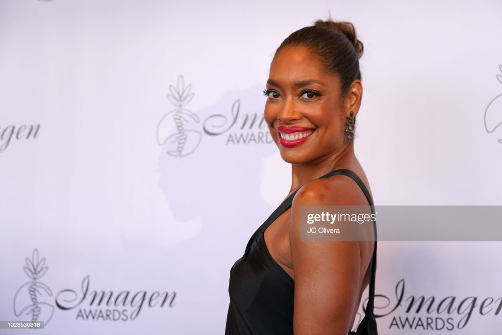 Actor Gina Torres attends the 33rd Annual Imagen Awards at JW Marriott Los Angeles at L.A. LIVE on August 25, 2018 in Los Angeles, California.