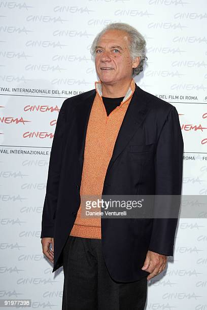 Actor Giorgio Colangeli attends the 'Alza La Testa' Photocall during day 4 of the 4th Rome International Film Festival held at the Auditorium Parco...