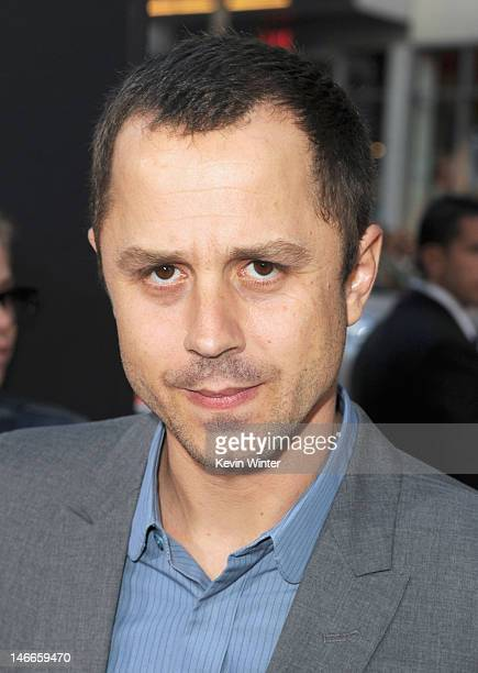 Actor Giovanni Ribisi arrives at the Premiere of Universal Pictures' 'Ted' sponsored in part by AXE Hair at Grauman's Chinese Theatre on June 21 2012...