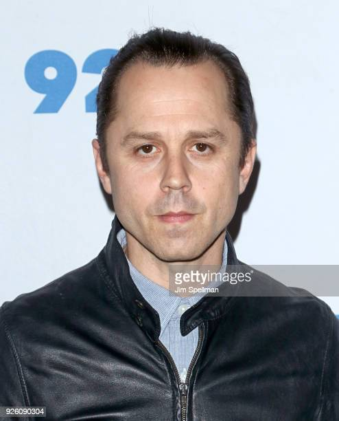 Actor Giovanni Ribisi from 'Sneaky Pete' attends the 92nd Street Y 'Marvelous Mrs Maisel' and 'Sneaky Pete' event at 92nd Street Y on March 1 2018 in...