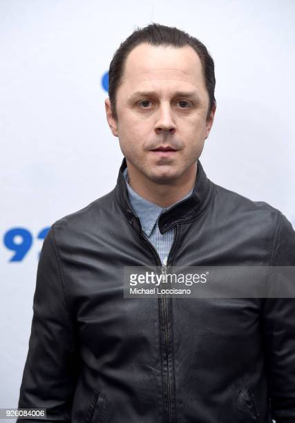 Actor Giovanni Ribisi poses before taking part in 92nd Street Y Presents 'Marvelous Mrs Maisel' 'Sneaky Pete' at 92nd Street Y on March 1 2018 in New...