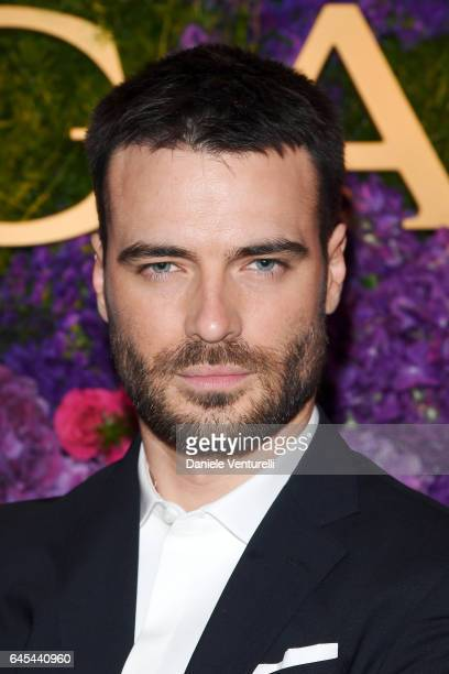 Actor Giulio Berruti attends Bulgari's PreOscar Dinner at Chateau Marmont on February 25 2017 in Hollywood United States