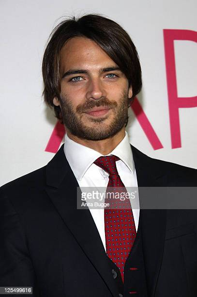 Actor Giulio Berruti attends the 'Bon Appetit' Berlin premiere at Astor Film Lounge on November 24 2010 in Berlin Germany