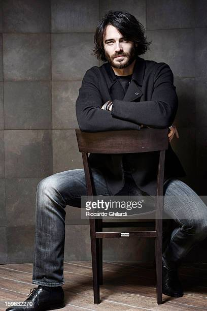Actor Giulio Berruti is photographed for Self Assignment on November 17 2012 in Rome Italy