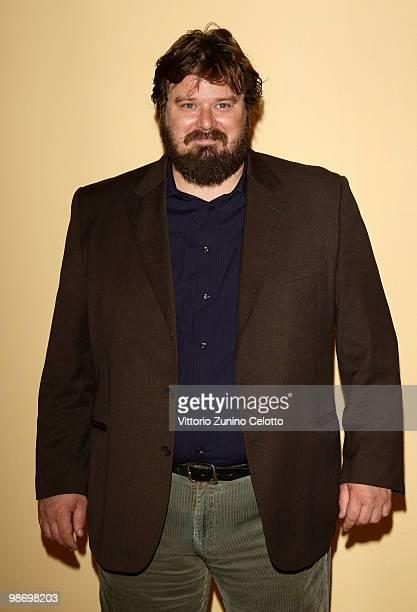 Actor Giuseppe Battiston attends 'Cosa Voglio Di Piu' photocall held at Cinema Anteo on April 27 2010 in Milan Italy