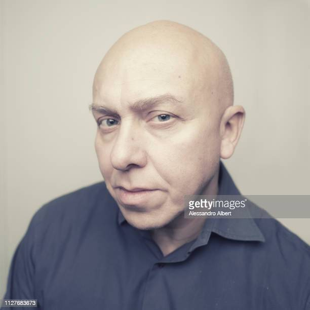 Actor Giuseppe Sepe poses for a portrait Turin Film Festival on November 2018 in Turin Italy
