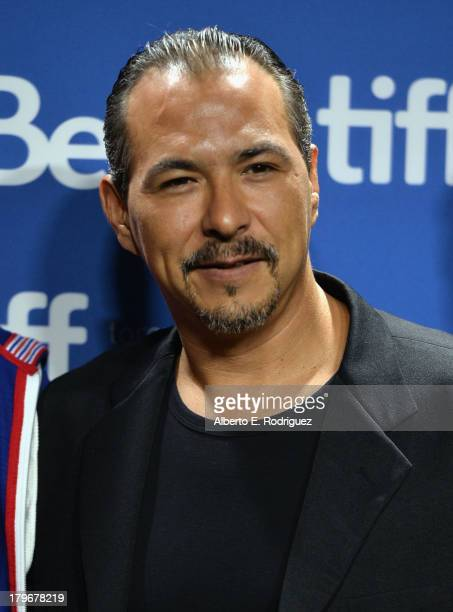 Actor Glen Gould of 'Rhymes for Young Ghouls' attends First Peoples Cinema Press Conference during the 2013 Toronto International Film Festival at...